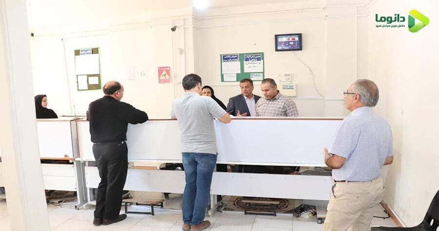 تصویر مراجعه به مرکز اجرائیات راهور برای اعتراض به جریمه و خلافی