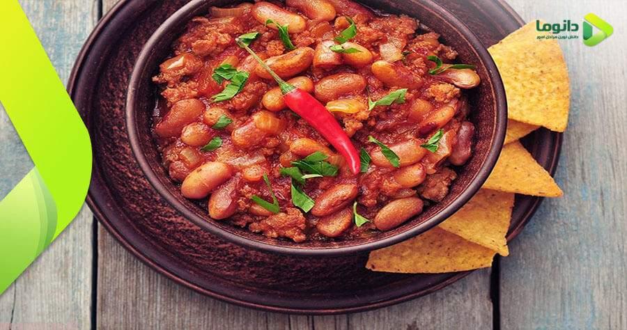 مراحل و نکات تهیه خوراک لوبیا چیتی با قارچ